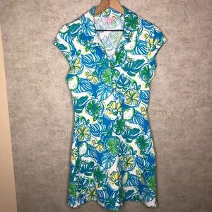 Lilly Pulitzer Lemons and Limes Dress